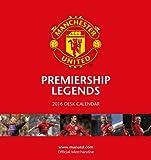Official Manchester Utd 2016 Desk Easel Calendar (Stand Desktop Calendar) (Calendar 2016)