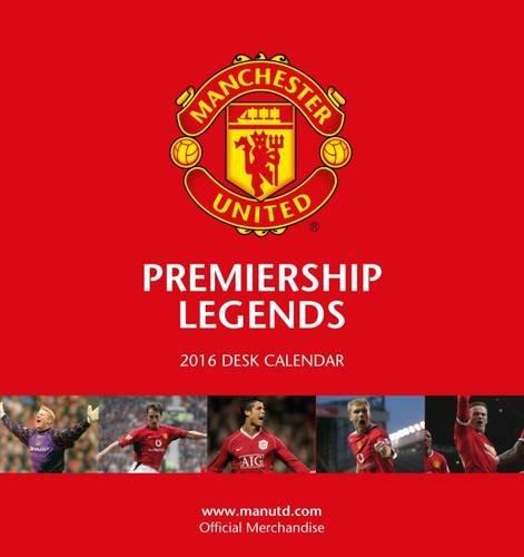 The Official Manchester United 2016 Desk Easel Calendar (Calendar 2016)