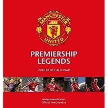 The Official Manchester United 2016 Desk Easel Calendar