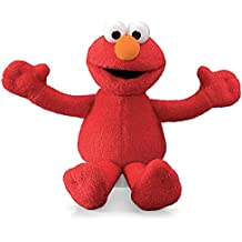 Gund - Peluche Beanbag Del Pupazzo Elmo (Muppets, Sesame Street), 15 Cm