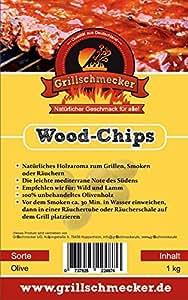 Grillschmecker: Wood-Chips Oliven, 1kg