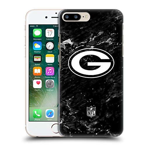 Offizielle NFL Marmor 2017/18 Green Bay Packers Ruckseite Hülle für Apple iPhone 6 Plus / 6s Plus Marmor