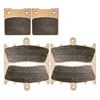 Sintered Bremsbelage Setzen for Street Bike GSX-R1100 GSXR1100 GSXR GSX R GSX-R 1100 cc 1100cc WP WR WS WT WV GU75C G253 1993 1994 1995 1996 1997 93 94 95 96 97 6 Pads