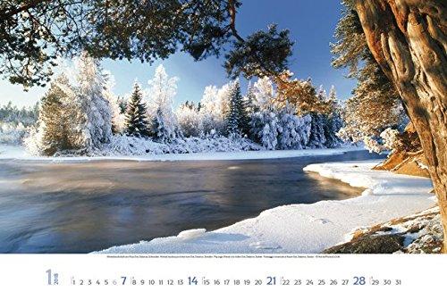Skandinavien 2018: Großer Wandkalender. Natur und Landschaften. Travel Edition mit Jahres-Wandplaner. PhotoArt Panorama Querformat: 58x39 cm.: Alle Infos bei Amazon
