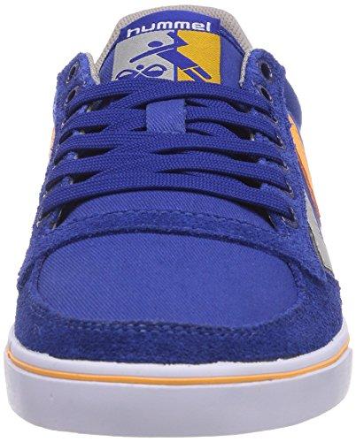 hummel SL STADIL CANVAS LO Unisex-Erwachsene Sneakers Blau (Limoges Blue 8543)