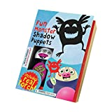 New House of Marbles Fun Monster Shadow Puppet Kit w/ Torch - Vintage Toys for Children