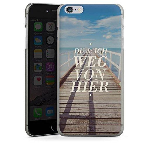 Apple iPhone X Silikon Hülle Case Schutzhülle Leben Reise Sprüche Hard Case anthrazit-klar
