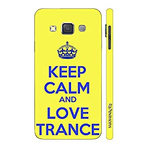 Enthopia Designer Hardshell Case LOVE TRANCE 2 Back Cover for Samsung Galaxy A7 2015