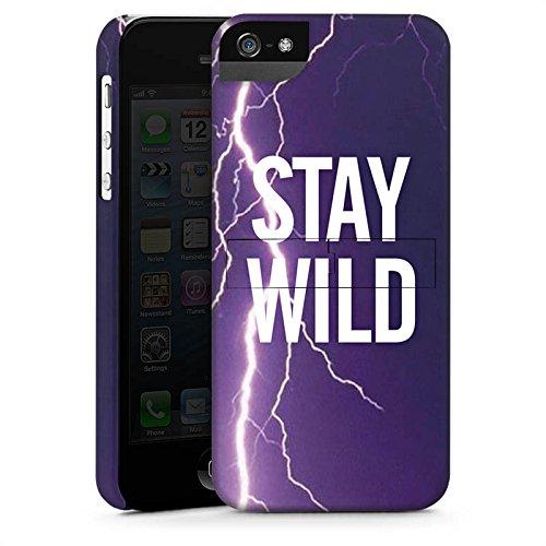 Apple iPhone X Silikon Hülle Case Schutzhülle Wild Sprüche Statement Premium Case StandUp