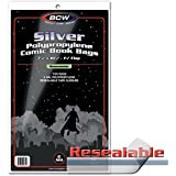 BCW Resealable Silver Comic Book Bags (100 Stück) [Import allemand]