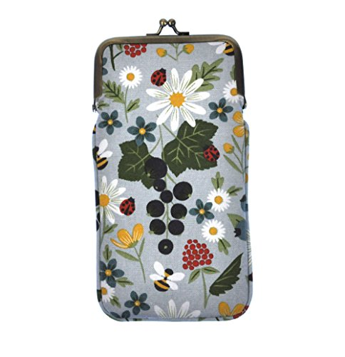 Kitchen Garden Canvas Glasses Case by Gisela Graham