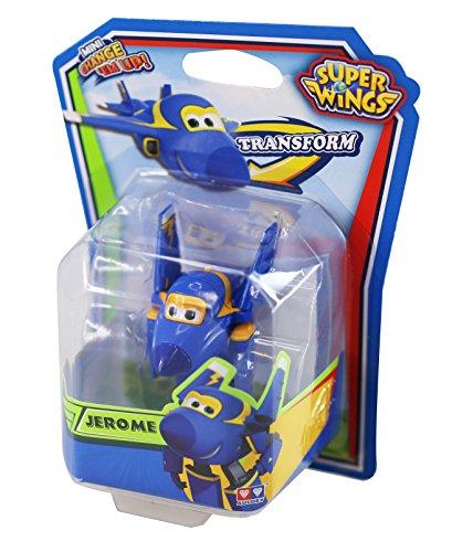 Super Wings Jerome 1pieza(s) Negro, Azul, Amarillo Niño/niña - figuras de juguete para niños (Negro, Azul, Amarillo, 4 año(s), Niño/niña, 9 año(s), Interior, Dibujos animados)