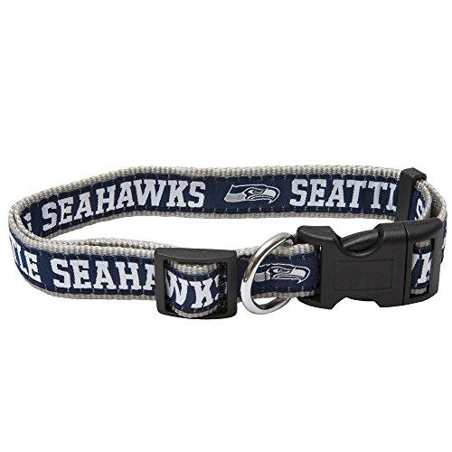 Pets Erste NFL Seattle Seahawks Pet Halsband, klein (Patriot-eagle-t-shirt)