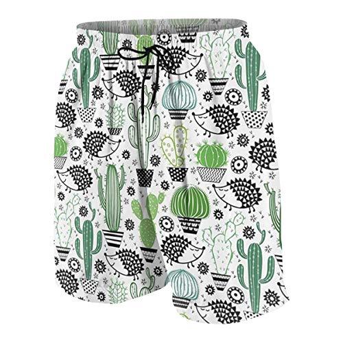 Faery Hedgehog Boys Beach Shorts Quick Dry Beach Swim Trunks Kids Swimsuit Beach Shorts,Boys' Match Play Polo Shorts S (Boys Golf Oakley)