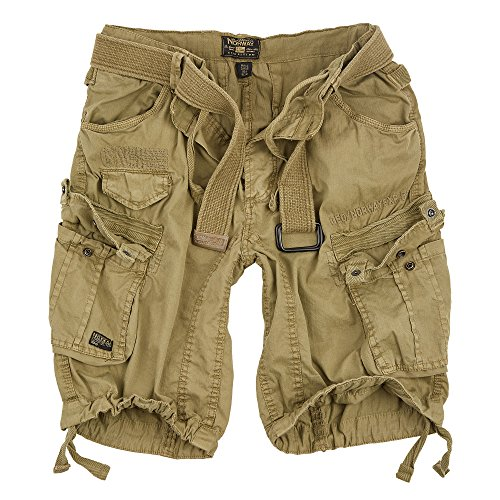 Geographical Norway Cargo Shorts Hunter mit UD Bandana Mastic - XL -