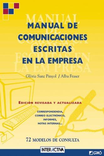 Manual de comunicaciones escritas en la empresa