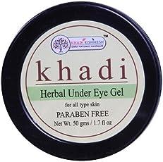 KHADI RISHIKESH Herbal Under Eye Gel - 50g Pack