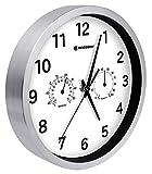 Bresser Orologio da Parete Termo-/ Igrometro Mytime 25cm - Bianco