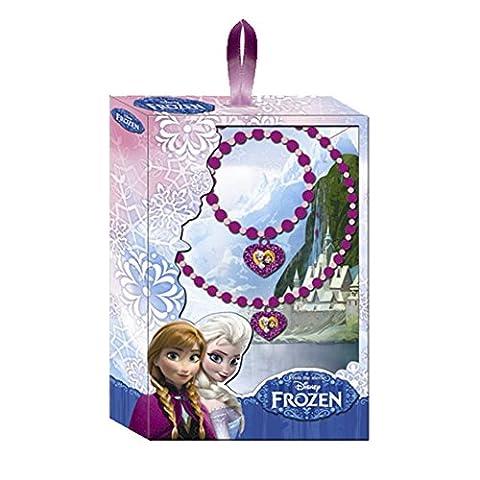 Collier Disney - Frozen Disney 2 colliers la reine des