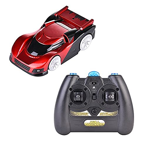 Wall Climber Climbing RC Car 360 °Home Vehicle Infrared Control Mini Gravity Remote Control Car Kids Electric Toy RC Vehicle Stunt Car