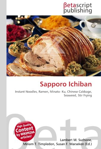Sapporo Ichiban: Instant Noodles, Ramen, Minato- Ku, Chinese Cabbage, Seaweed, Stir Frying
