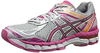 Asics Women's Gel-indicate Running Shoe, Lightning/Hot Pink/Nectarine, 8 M US