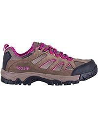 Izas Chambi - Zapatillas de trekking para mujer, color marrón