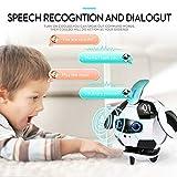 ETbotu Giocattolo robot con Talking Singing Dancing,Deformazione interattiva Robot da calcio con ripetizione Cosa dici Sensibilità al tocco Evitamento degli ostacoli