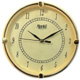 #6: Ajanta Fancy And Designer Wall Clock For Home, Offices, Bedroom, Living Room And Kitchen (19 cm x 19 cm , Step Movement, Ivory)