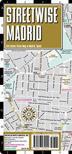 Streetwise Madrid, 1/12 000 : City Center Street Map of Madrid, Spain