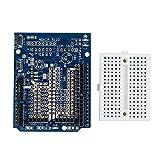 Extension Board + Breadboard - TOOGOO(R)Prototype de prototypage pour ProtoShield Mini Platine pour Arduino UNO R3, Bleu
