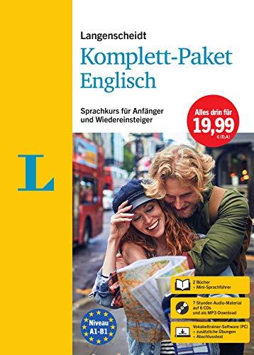 Langenscheidt Komplett-Paket Englisch: Sprachkurs für Einsteiger und Fortgeschrittene