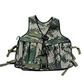 Yosoo 20KG/44lbs Verstellbare Camouflage Gewichtsweste Weight Vest Trainingsweste Training Workout Fitness Sport Jacket - 4