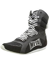 Metal Boxe Viper2- Botas altas de boxeo, Viper2, negro, talla 39
