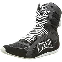 Metal Boxe Viper2 - Botas Altas de Boxeo, Viper2, Negro, Talla 43