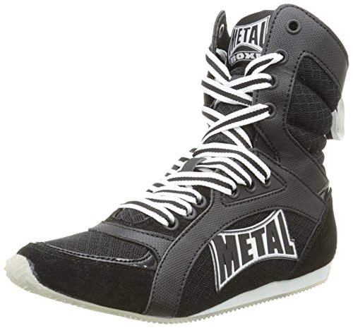 Metal Boxe Viper2- Botas altas de boxeo, Viper2, negro, talla 43