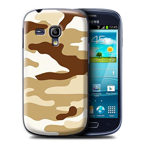 Stuff4® Hülle/Hülle für Samsung Galaxy S3 Mini/Braun 2 Muster/Armee/Tarnung Kollektion Samsung Galaxy S3 Camo