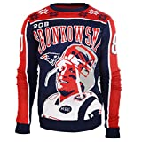 NFL Ugly Sweater/Pullover Christmas NEW ENGLAND PATRIOTS Rob Gronkowski #87in XL