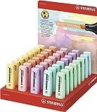 Stabilo Boss Original - Confezione di evidenziatori pastello, 40colori assortiti