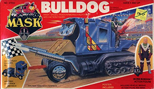 Bulldog MASK vehicle toy