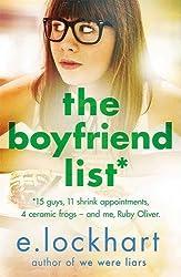 Ruby Oliver 1: The Boyfriend List by E. Lockhart (2016-07-14)