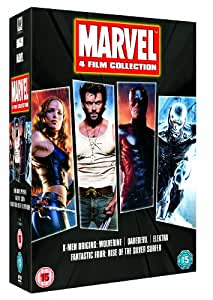Marvel 4 Film Collection [DVD] [2003]