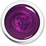 Maica Germany UV-Farbgel Metallic purple, 1er Pack (1 x 10 g)