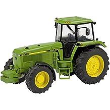 Dickie-Schuco 450764500 - Maquea tractor John Deere 4755/4955 (metal, escala: 1:32), color verde