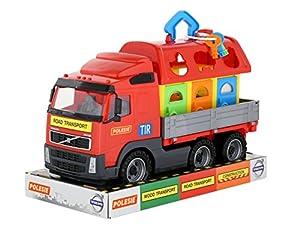 Polesie Polesie58263 Volvo Powertruck - Rampa de Juguete para camión y Mascotas