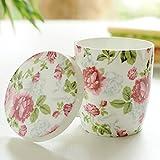Tazze e piattini Tazzine da caffè Tazze da coppia in ceramica coppette in porcellana bone china con coperchio a cucchiaio tazza da caffè per ufficio europea simpatici bambini che bevono tazze Tazze da