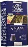 Caffè Corsini Caps Compatibili Nespresso Ginseng  - 6 confezioni da 10 capsule - Totale 60 Capsule