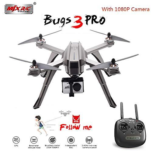 MJX Bugs 3 Pro B3PRO Drone con Cámara HD De 1080p