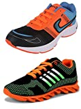 #7: Chevit Men's COMBO Stylish Running Shoes (Joggers + Sports Shoes)