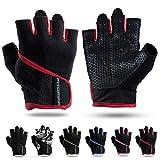 Fitgriff Trainingshandschuhe für Damen und Herren - Fitness Handschuhe ohne Handgelenkstütze für...